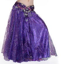 Belly dance clothes belly skirt expansion yarn tulle dress wx5606