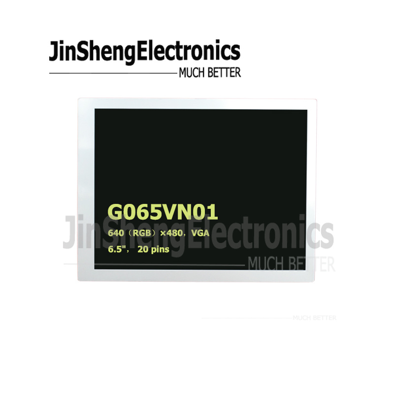 For AUO New Grade A+ Original inch6.5 G065VN01 .2 20pins <font><b>640x480</b></font> QVGA Replacement <font><b>LCD</b></font> Screen Display image