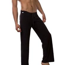 цена на Nylon Full Length Fitness Clothing Yoga Pants Loose Nylon Bloomers Suit for Men & Women