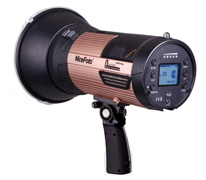 NICEFOTO nflashE480A Wireless Studio Flash Elinchrom series LED Lamp for Outdoor Photography Built-in Hi-speed Flash Light nicefoto tb 600b 600w studio flash fast recycling time tb 600b studio profession photography studio light lamp touch button