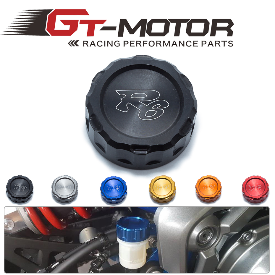 GT Motor - FREE SHIPPING Hot sale For YAMAHA R6 Motorcycle Accessories Rear Brake Fluid Reservoir Cap Oil Cup 2006-2014 aftermarket free shipping motor parts for motorcycle 1989 2007 suzuki katana 600 750 billet oil brake fluid reservoir cap chrome
