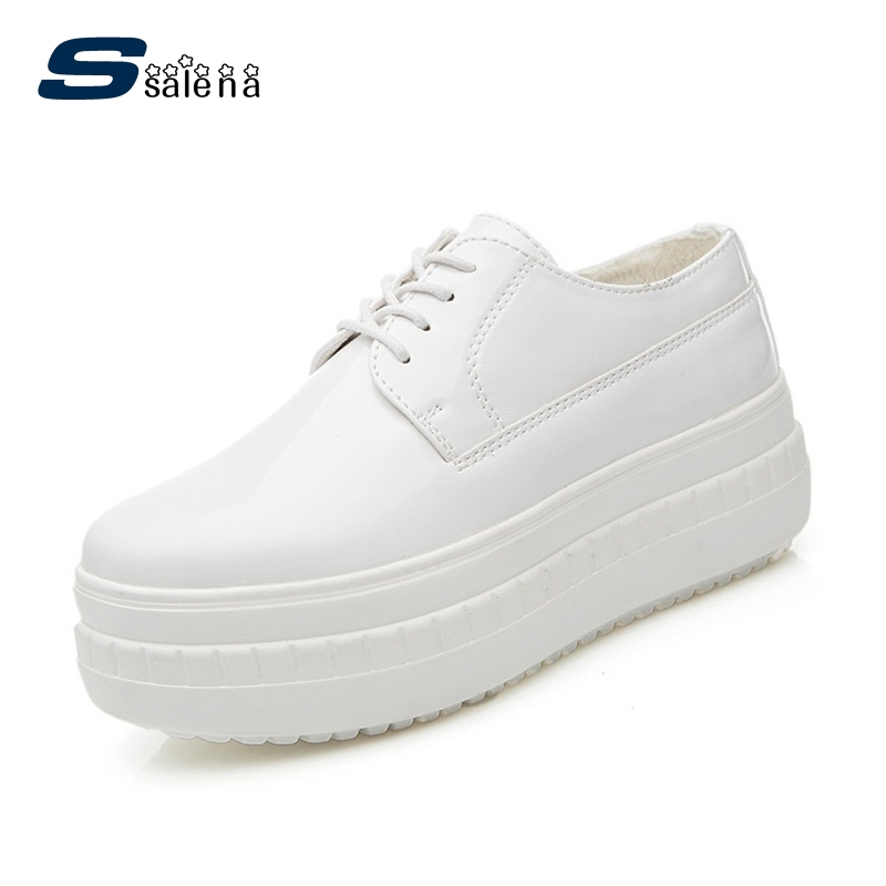 Brand Women Flats 2017 High Quality Lace Up Female Casual Shoes Comfortable Women Outdoor Shoes AA30145 real pic high color decorative rivets women casual shoes brand designer lace up comfortable women flats shoes woman