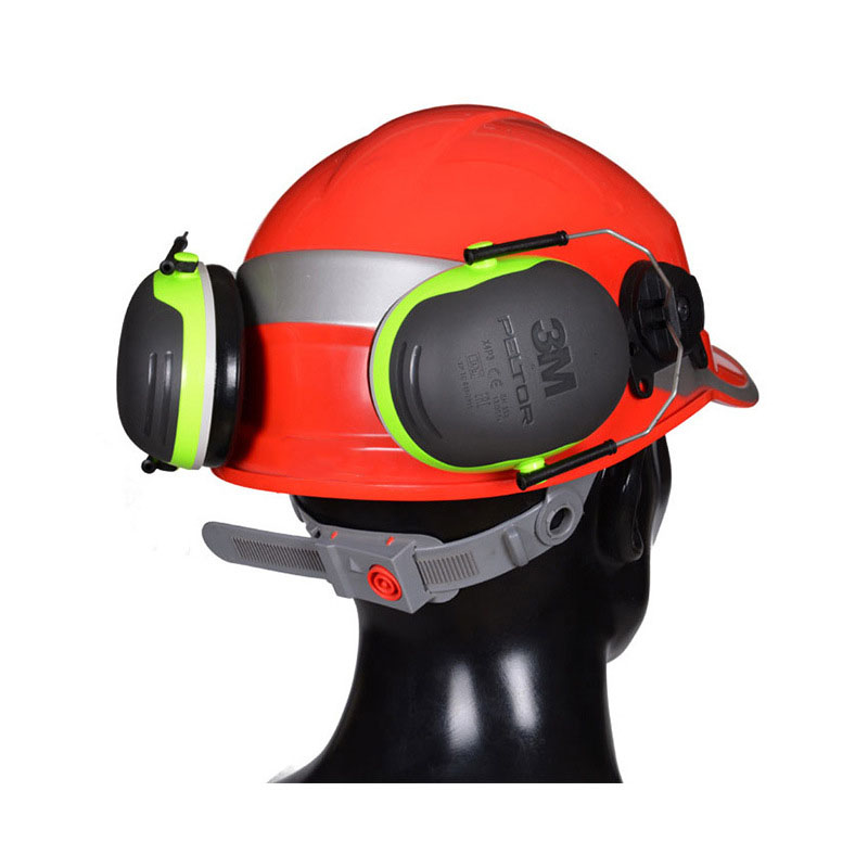 3M X4P3 Sound insulation Earmuffs for Safety helmet Hanging type Ear Protector Noise Reduction Mechanical Industrial Ear muffs 3m x5a earmuffs anti noise hearing ear protector comfortable sound insulation ear muffs noise reduction for work sleep shooting