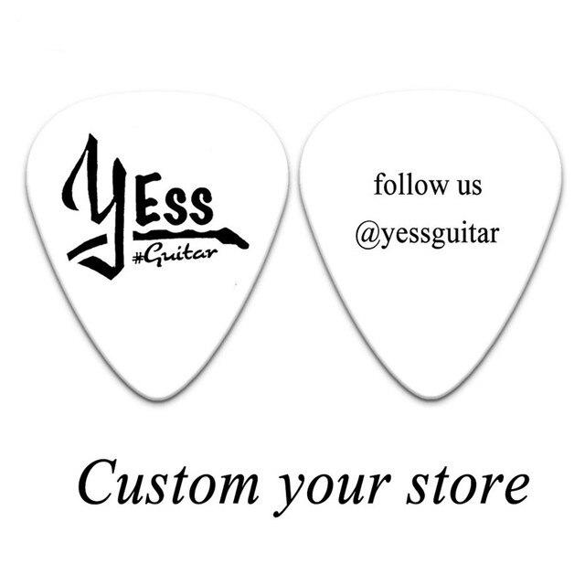 Купить 100 шт персонализированные целлулоидные гитарные медиаторы на картинки цена