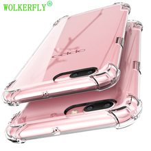 Anti-knock Silicone Case for OPPO R9 R9S R10 R11 Plus R15 A33 A37 A39 A57 A59 A77 R7S F3 F5 F7 TPU Clear Cover Full Protective