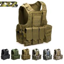 Unloading Camouflage Tactical Multi pocket Classic Waistcoat For Men Male Sleeveless Solid Coat Combat Vest Masculino Jackets