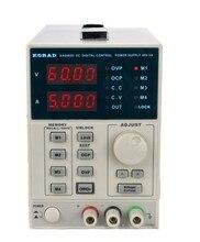 KORAD KA6005D Высокоточный Переменная Регулируемый 60 В 5A DC Линейный Источник Питания Цифровой Регулируемый Лабораторного Класса