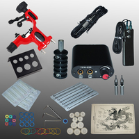 YILONG New Arrival 1 set Tattoo Kit Power Supply Gun Complete Set Equipment Machine Wholesale 1100657 2kitA