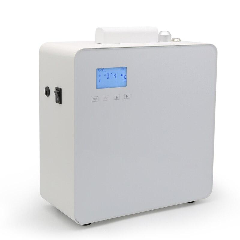 500 ML Geur Aroma Diffuser Kantoor Grote Geurige Olie Machine LCD Essentiële Diffuser voor 800 1200m3 Winkelcentra Hotels-in Sproeiers van Huis & Tuin op  Groep 1