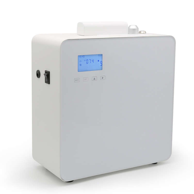 500ML Scent Aroma Diffuser Office Large Fragrant Oil Machine LCD Essential Diffuser for 800 1200m3 Shopping Malls Hotels-in Sprayers from Home & Garden    1