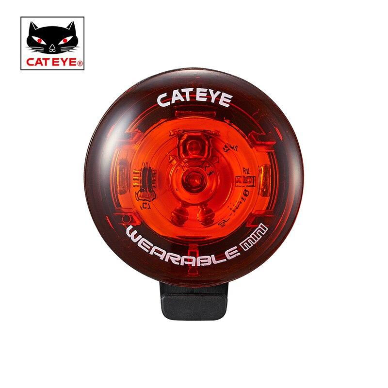 CATEYE Bicycle Bike Light Cycling Wearable LED Lamp Light Waterproof Taillight Detachable Seat Tube Flash Safety Light Bag Light