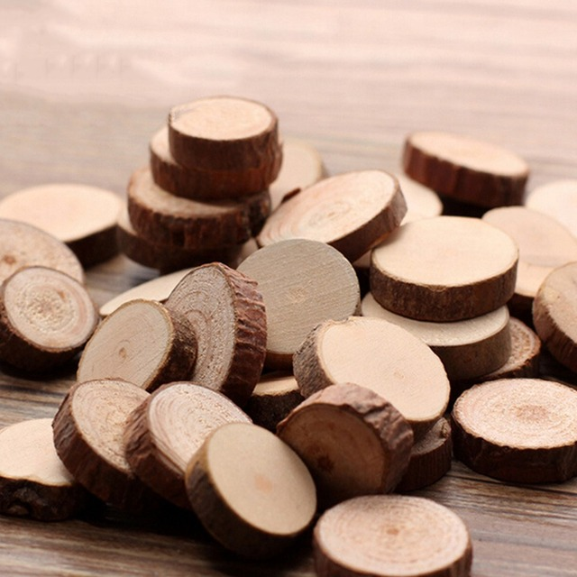 unids madera tronco de rbol rstico arte de la boda centros de mesa decoracin