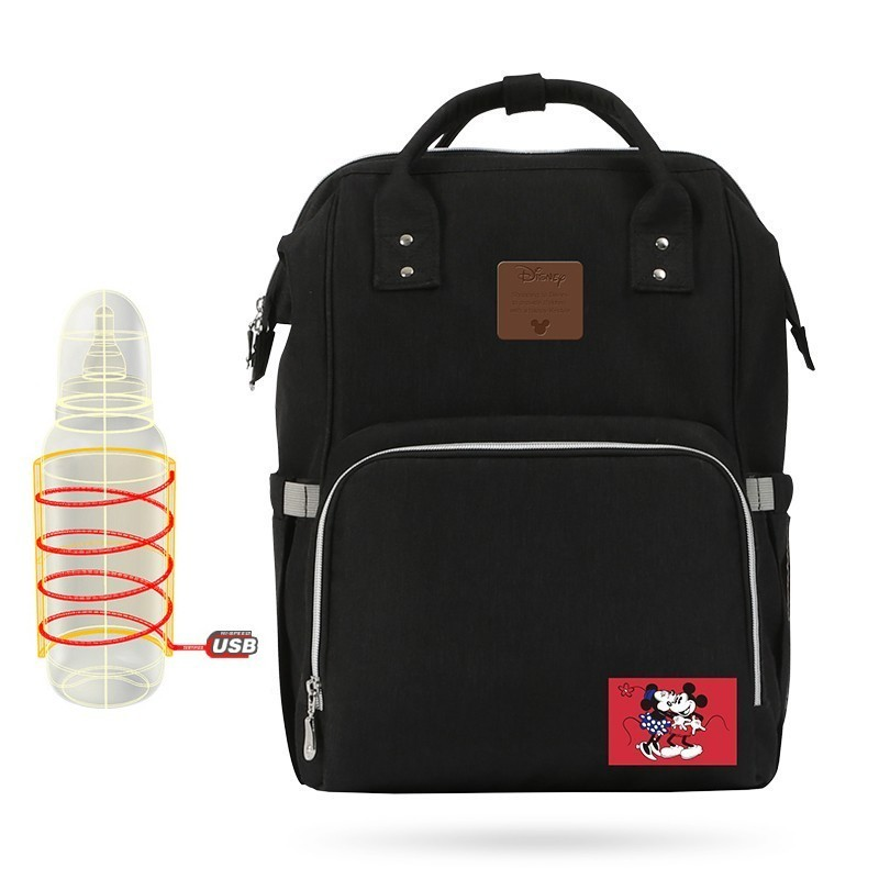 Disney Mummy Diaper Bag Maternity Nappy Bag Waterproof Travel Backpack Large Capacity Baby Care Bag mochila