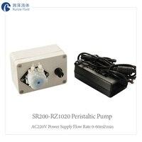 Mini Liquid Metering Peristaltic Pump Micro Dispenser Ph Measurement Corrosion Resistance