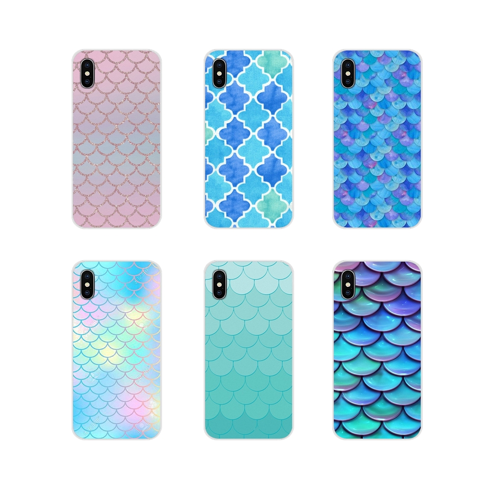 Accessories Phone Cases Covers For Motorola Moto X4 E4 E5 G5 G5S G6 Z Z2 Z3 G3 G2 C Play Plus Mandalas Mermaid Scales
