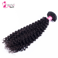 Ms Cat Hair Brazilian Kinky Curly Hair 1 Bundle Natural Black 8 To 24 100g Curly