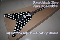 Hot Selling China Randy Rhoads Signature Electric Guitars With Chrome Floyd Rose Tremolo For Sale
