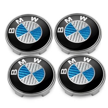 4pcs/set 68MM Car Wheel Center Hub Caps For BMW 116i 118i 120i 125i 130i 135i M140i 218i 220i 323i 325i Hub Cover Car Accessory bmw 68mm center caps