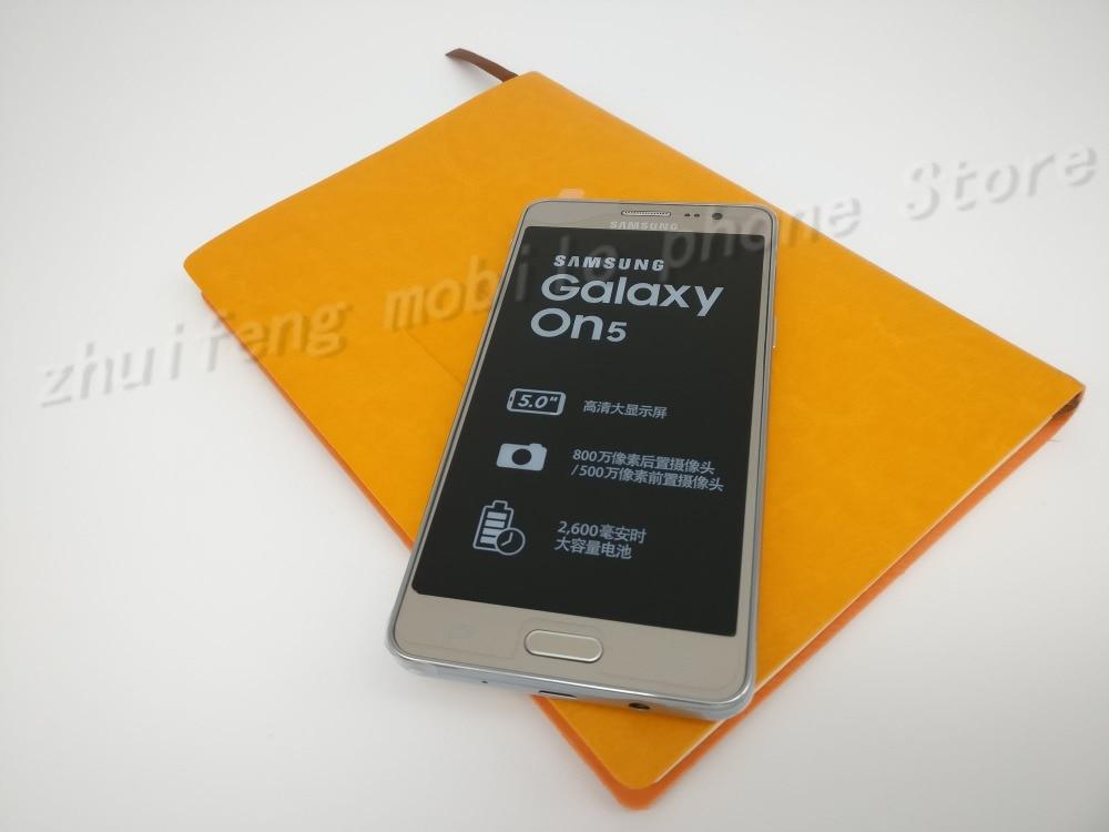 Original Samsung Galaxy On5 G5500 8GB ROM 4G LTE Mobiltelefon 8MP - Mobiltelefoner - Foto 2