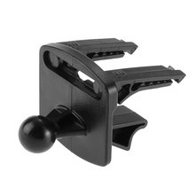 New Promotions Black Plactics Car Vehicle GPS Air Vent Mount Holder Stand Base Set for Garmin Nuvi Free Shipping