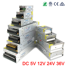 DC 5V Power Supply 2A 5A 10A 15A 20A lighting Transformers 5 V Volt LED Driver 220v to 12v DC AC 5V Power Supply Adapter 5V 10A 100w 5v 20a led light devices switching power supply ac dc psu 100 110 220 230v s 100 5