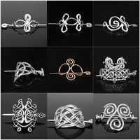 Nordischen Viking Haar Sticks Runes Drachen Haarnadel Knoten Amulett Haeds Haar Clips Stick Rutsche Zubehör Für Hochzeit Schmuck