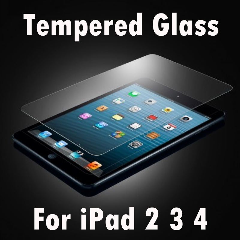 For iPad 4 / 3 / 2 Ultrathin Premium Explosion Proof Tempered Glass Screen Guard|for ipad 4|glass for ipad 4|tempered glass for ipad - title=
