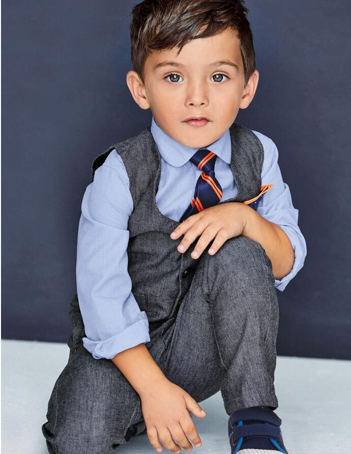 Find great clothing for your son for playing sports outside, sitting in school, lounging around the house and all of the other activities boys love. With all the essentials like boys' sports socks and underwear, to shorts, jeans, sweaters and more, you will love the variety of clothes for different seasons and occasions.