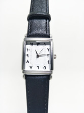Arabic Women Trend Watches Japanese Motion Real Leather-based Straps
