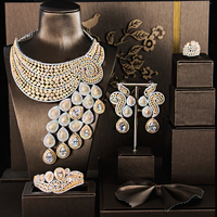 african jewelry sets jewelry accessories bridal jewelry sets WOMEN necklace colour stone necklace WEDDING SETS Zirconia stone