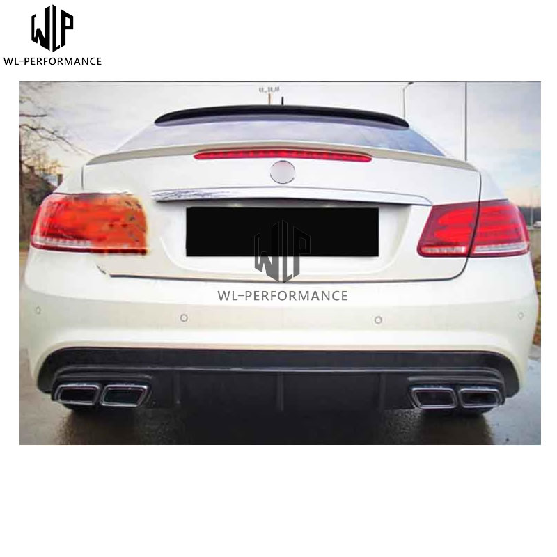 2010-2013 Benz E Class C207 W207 2DR Coupe AMG Sport FRP Front Lip Body Kit