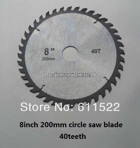 8 inch blade saw for wood working from professional company at good price and fast delivery