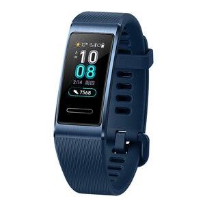 Image 5 - Huawei Band 3 Pro GPS Amoled 0.95 Full Color Touchscreen Waterproof Metal Swim Stroke Heart Rate Sensor Sleep Bracelet