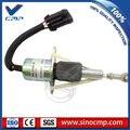 3990773 CMP 24v экскаватор остановка топлива отключение пламео соленоид
