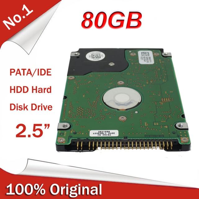100 Original New 25 25inch PATA 5400RPM IDE HDD 80GB Internal Hard Disk