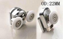 shower door wheel Bathroom accessories glass hardware zinc alloy rollers