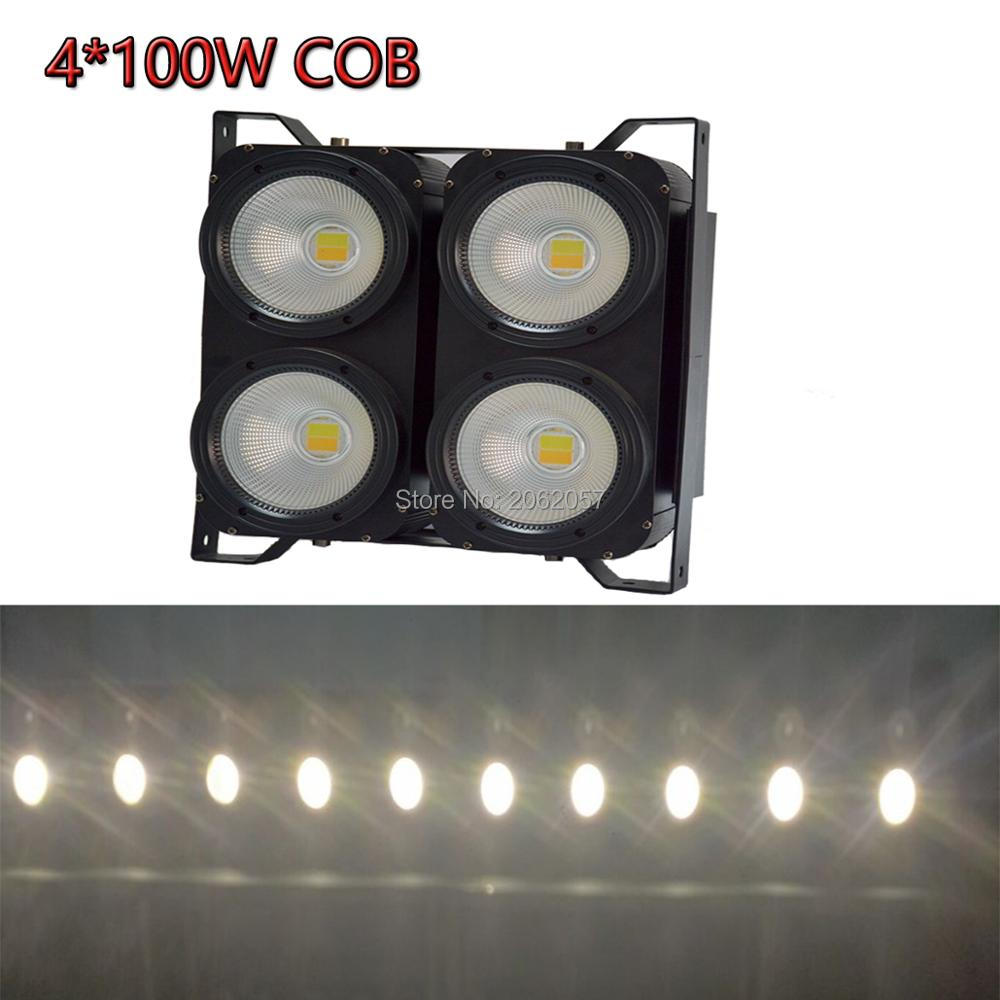 New 2017 LED 400W white audience lights dj disco wedding profesional stage light for club