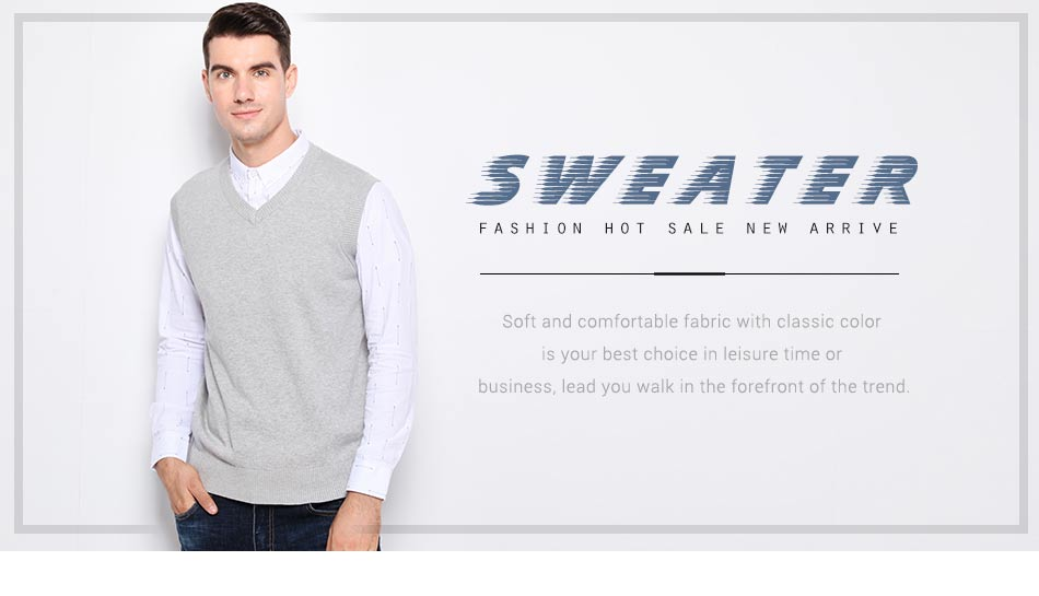 Sleeveless coat men