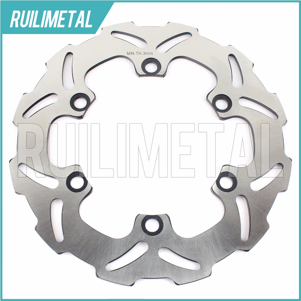 Rear Brake Disc Rotor for KAWASAKI  KLE500 91 92 93 94 95 96 97 98 99 00 01 02 03 04 05 06 07  KLR650 A C KL650 Tengai rear brake disc rotor for suzuki dr 650 se 96 12 k1 k2 k3 k4 k5 k6 k7 k8 k9 xf 650 freewind 97 98 99 00 01 02 03