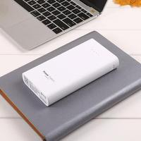 Durable Portable Large Capacity 20000mah Dual USB Power Bank Mobile Power Cable Lighting Interface Micro 5V 2 1A 5V 1A 5V 2 1A