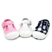 Baby Kids T-Shape Non-Slip Canvas Baby Shoes Breathable Soft Newborn Infant Shoes Children Kids First Walker Shoes