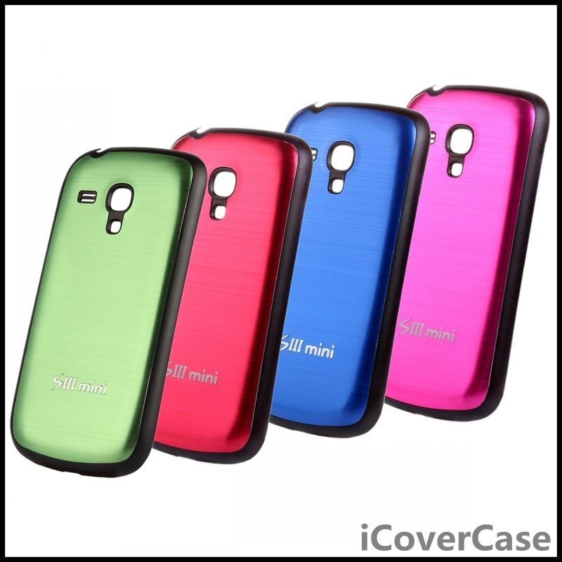 Battery cover case for samsung galaxy s3 mini metal back shell etui coque capinhas para for - Samsung s3 mini fundas ...