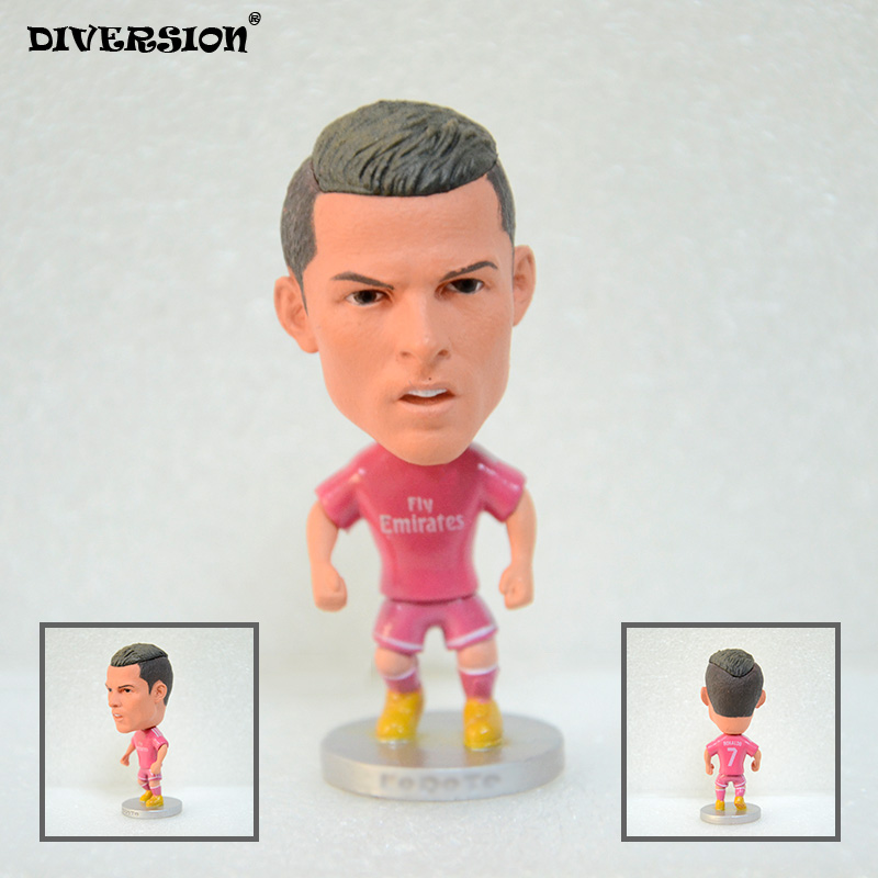 Soccer 7# Cristiano ronaldo(RM) 2.5 Action Doll Toy Figure 2017-2018 season soccerwe