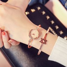 Women Fashion Watch Bangle Bracelet Luxury Female Watch Stainless Steel Ladies Quartz Wristwatch Brand Casual Women Dress Clock