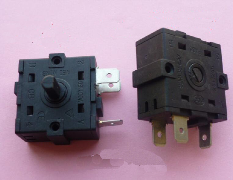 250VAC Electric Heater Parts Oil Radiator Adjustable Switch Position Switch With 3 Pins