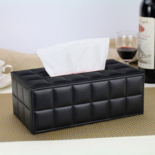 Коробка для салфеток из искусственной кожи, бумажный чехол для салфеток, прямоугольный чехол для комнаты, кухни, автомобиля, контейнер, боксы для салфеток, Домашний Органайзер, Декор