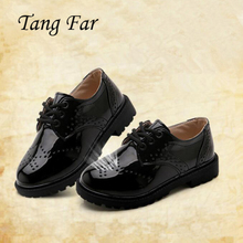 Children's shoes Leather Outdoor Perfect Design Cute Kids Shoes