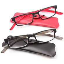 New Style Reading Glasses Black and Red Reader Hang Around on Neck