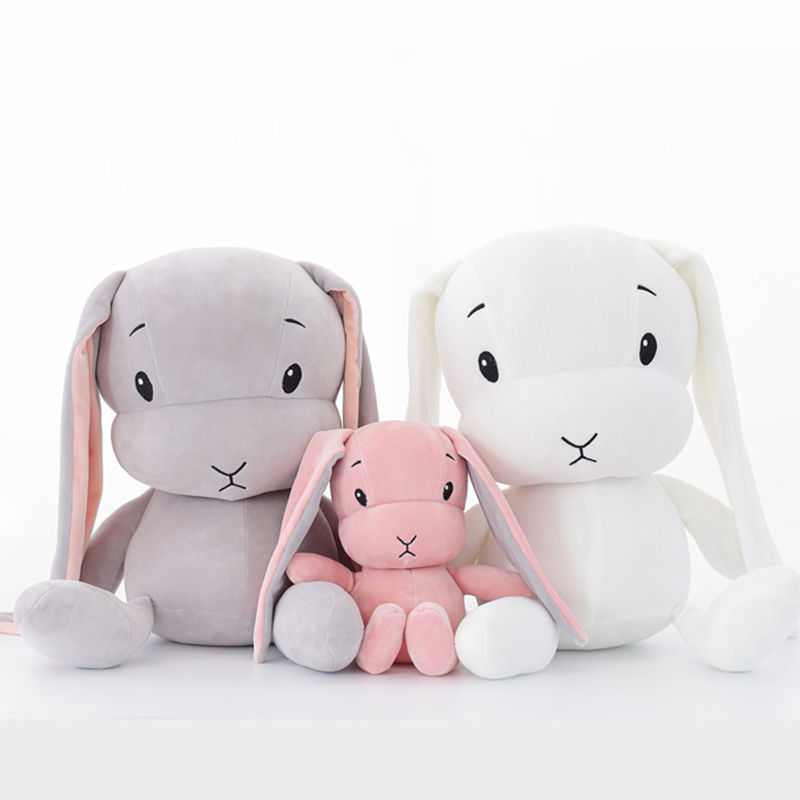 50cm30cm Cute Rabbit Bunny Doll Plush Toys Stuffed Plush Animal Baby Toys Doll Peluche Accompany Sleep Toy Gifts Kids Juguetes