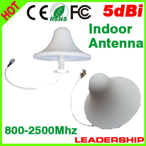 Indoor Celling Antenna For Dual Band 800mhz-2500MHz Cell Phone Boosters Mushroom Indoor Antennas For Mobile Signal Repeater